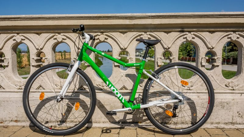 WOOM 6- 26 palcové kolesá a váha: 9,7kg
