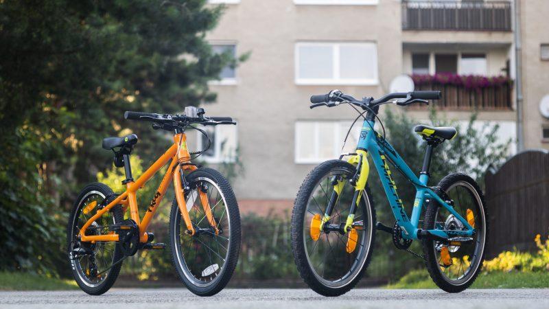 FROG 52 v porovnaní s Thunder 2O (2O palcové bicykle)