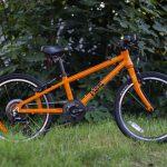 FROG 52 Orange - výborný sloping (výška hornej rámovej trubky)